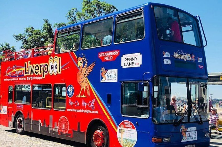 Blue Route - City Tour including Beatles.