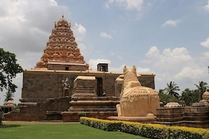 Great Living Chola Temples around Thanjavur with Lunch