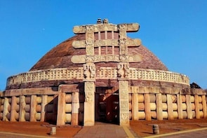 Day Trip to Sanchi Stupa & Vidisha from Bhopal