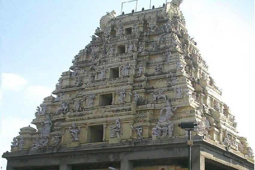 Show item 2 of 8. Temple Of Jupiter In Alangudi From Trichy