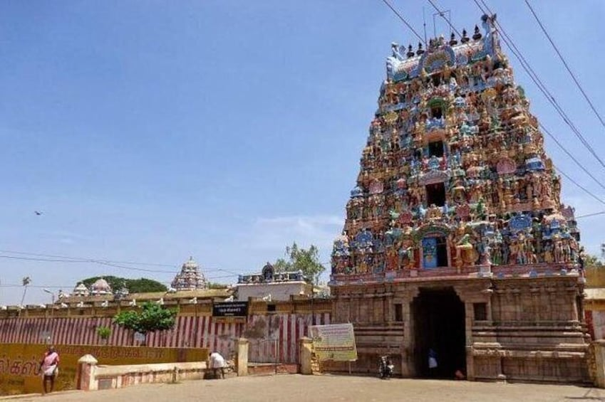 Show item 1 of 7. Temple Of Jupiter In Alangudi From Trichy