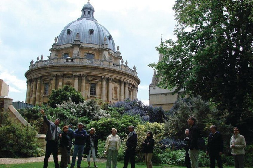Exeter College Garden and Radcliffe Camera