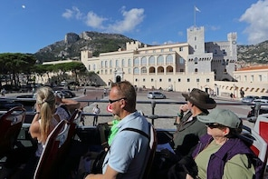 Monaco Hop on Hop Off Sightseeing Bus Tour