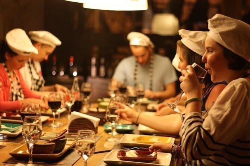 The Argentine Experience: Empanada Making, Steak, Wine, Alfajores and Mate