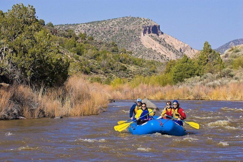 Show item 5 of 8. Family float on the Rio Grande