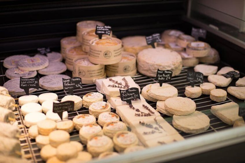 Cheeses collection