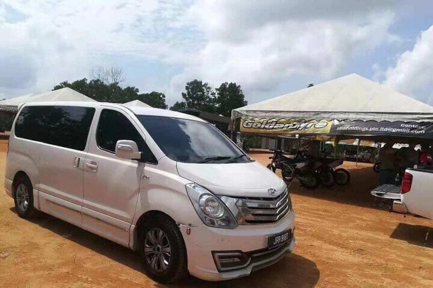 Johor Bahru Hotel Pick Up Car Tour
