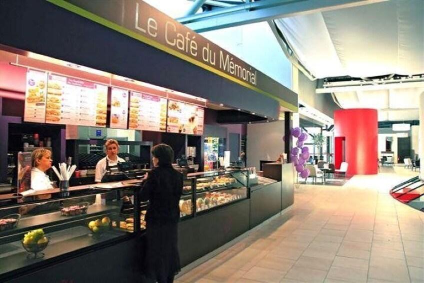 Memorial de Caen's Coffee Shop