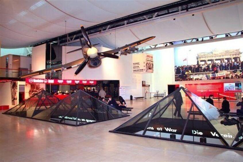 Memorial de Caen Museum Admission Ticket with Optional Audio Guide