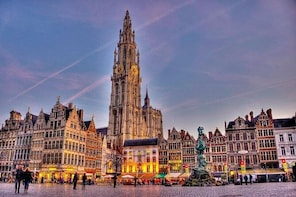 Antwerp by Night Private Walking Tour