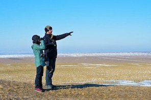 WINTER Birdwatching Day Trip in Dobruja, starting from Tulcea