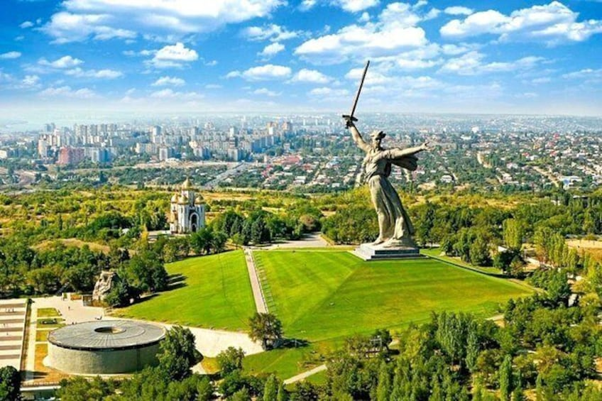 Show item 1 of 6. Volgograd Sightseeing Tour with Transport