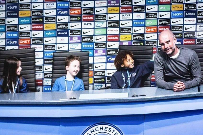 The Manchester City Stadium Tour