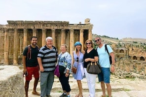 Small Group Tours from Beirut to Baalbek, Anjar and Ksara