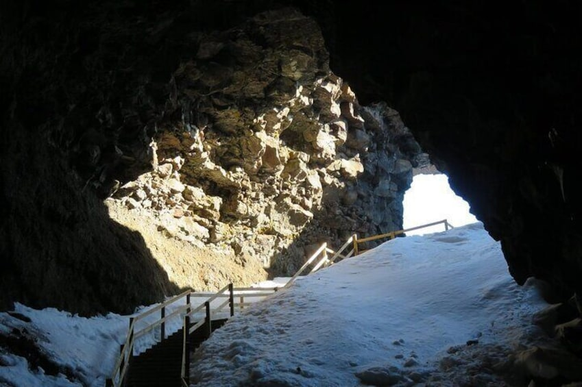 Show item 3 of 8. The Cave Explorer