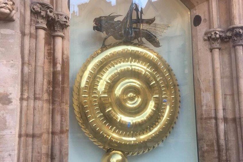 The Corpus Christi clock.