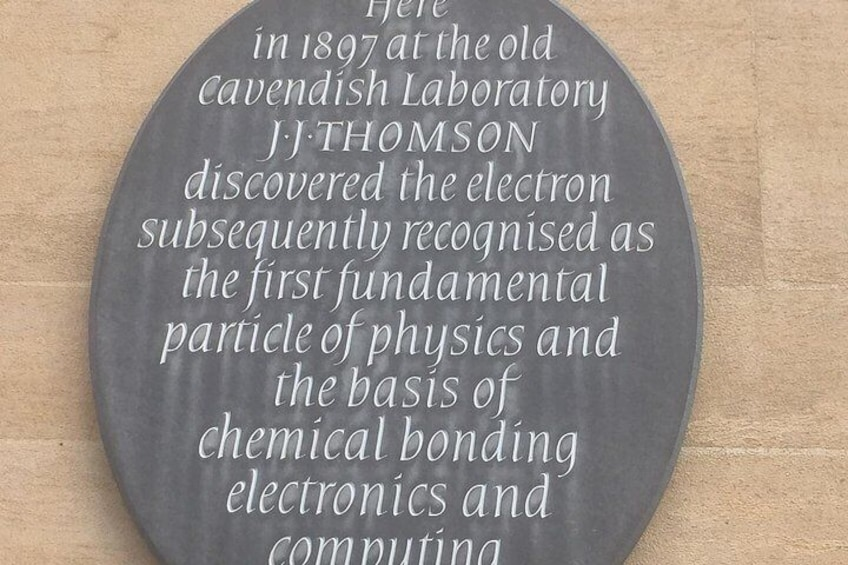 The Cavendish, where JJ Thompson discovered the electron.