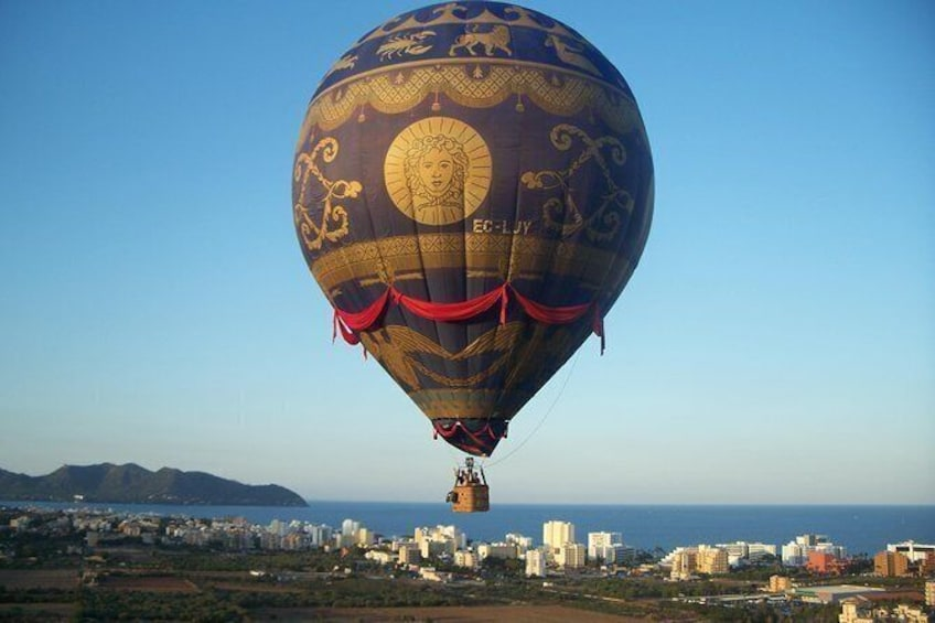 Show item 2 of 8. Private Hot Air Balloon Ride in Mallorca with Champagne and Tapas