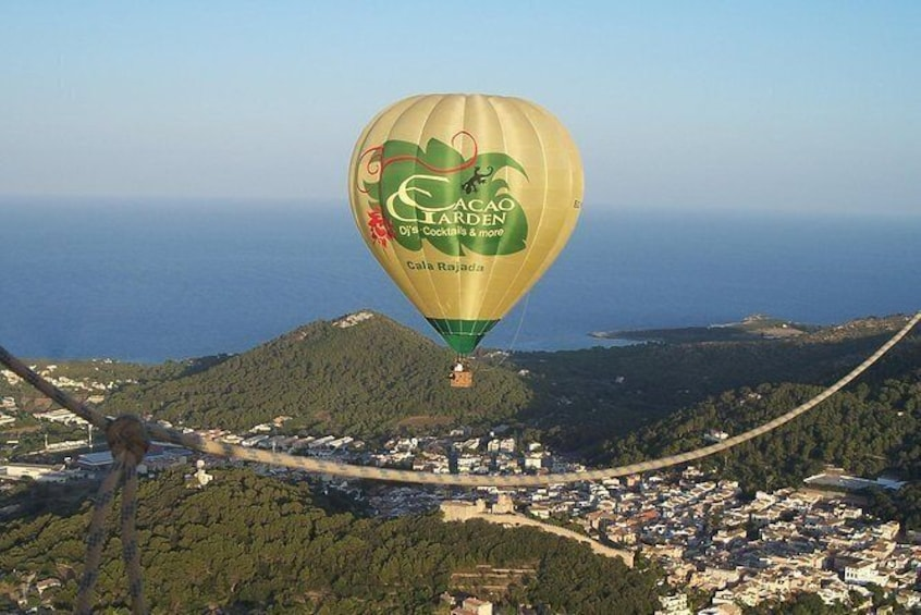 Show item 5 of 8. Private Hot Air Balloon Ride in Mallorca with Champagne and Tapas