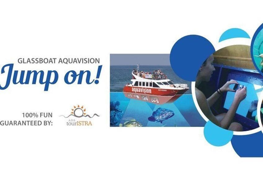Aquavision Glassboat Katamaran