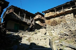 Full day Rural Tour to Hallaan Village with white water rafting in Beas riv...