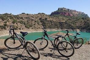 route bike to lake Siurana