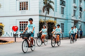 Half-Day Cultural Experience (Bamboo Bike Tour) in Intramuros