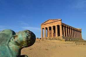 Agrigento Valley of the Temples and Villa Romana del Casale Tour from Paler...