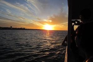 Fortaleza Sunset on the Boat