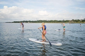 Trail and Stand up Paddle tour in Balneário Camboriú