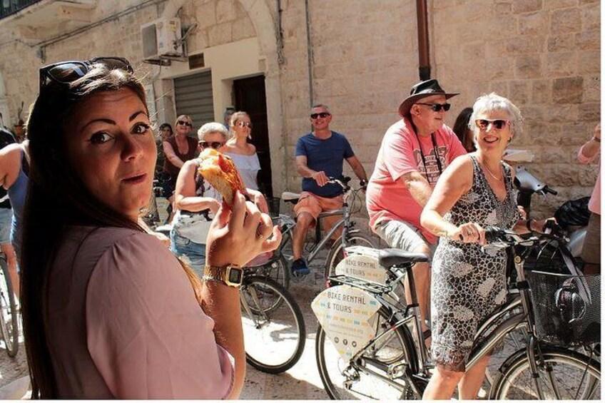 Bari and its flavours bike tour
