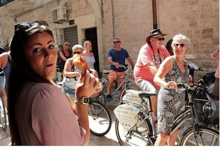 Bari Street Food Bike Tour