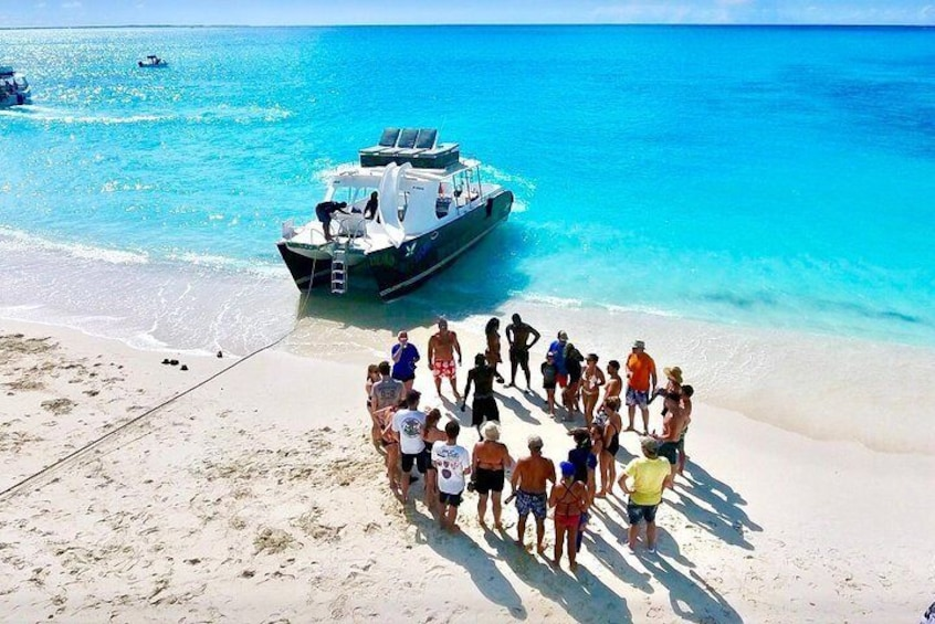 4hour Group Half Day Snorkeling Excursion in Grace Bay