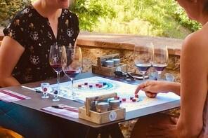 Wine Sensory Game in Chianti