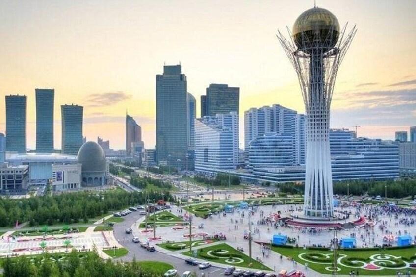 Show item 2 of 8. Nur-Sultan