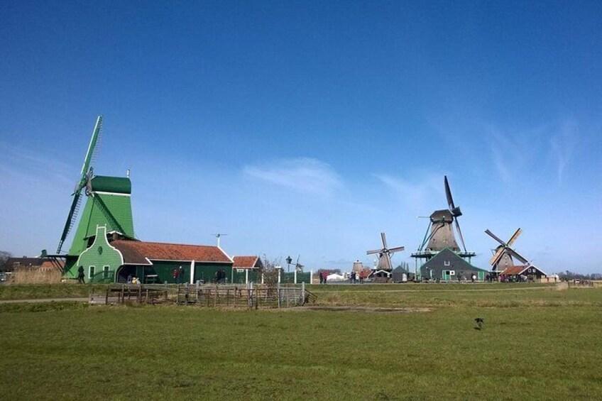 Private Tour: Zaanse Schans from Amsterdam