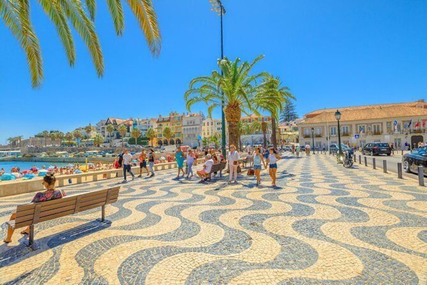 Show item 3 of 9. Cascais is a former fishing village that gained fame as a resort for Portugal's royal family in the late 19th century