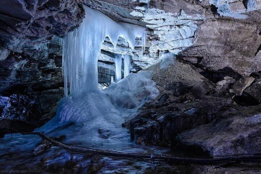Private Visit to unique monument of nature - Kungur Ice Cave