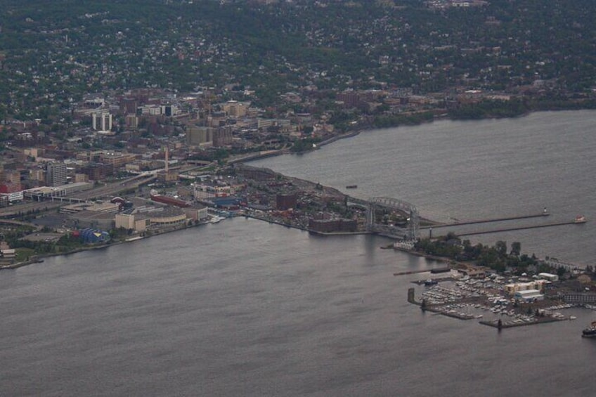 Downtown Duluth, Aerial Lift Bridge and Park Point