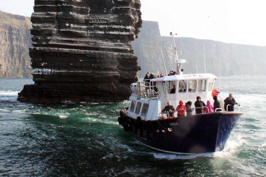 Cruise beneath the Cliffs of Moher