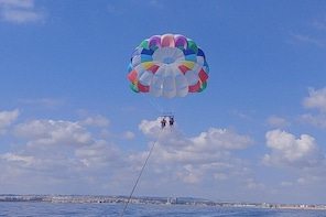 PARASAILING ON THE SEA OF TORREVIEJA