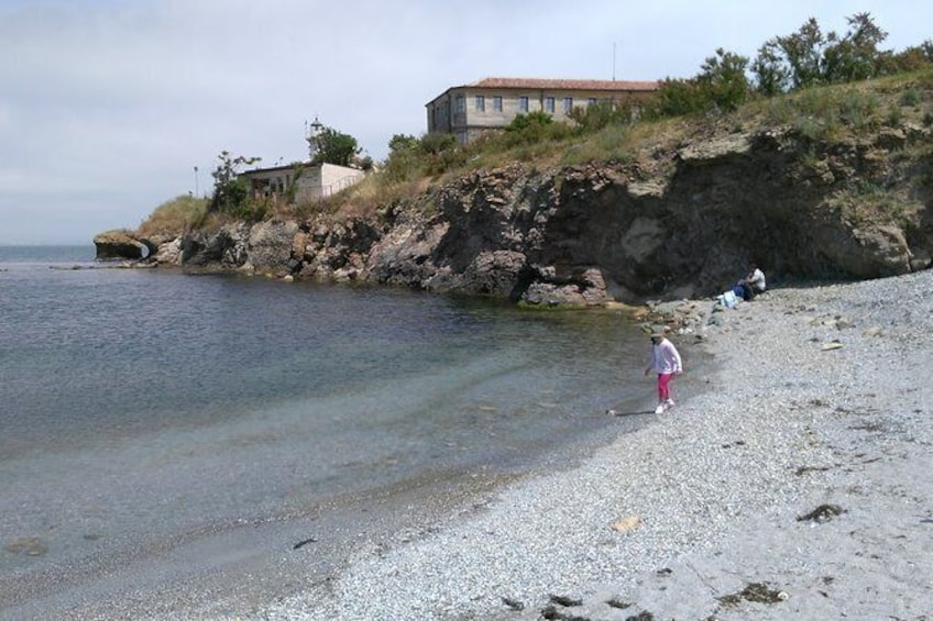 Show item 3 of 10. Visit the unique and only Bulgarian Black Sea Island Saint Anastasia