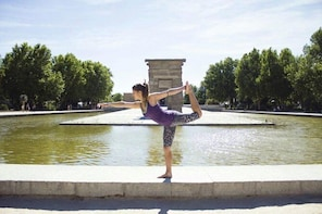 Outdoor Yoga In Madrid
