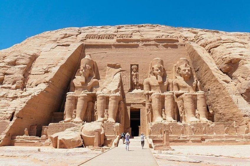 Show item 3 of 7. Private Day Tour To Abu Simbel From Aswan By Private Car