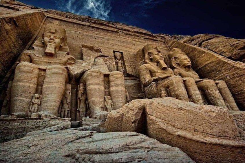 Show item 2 of 7. Private Day Tour To Abu Simbel From Aswan By Private Car