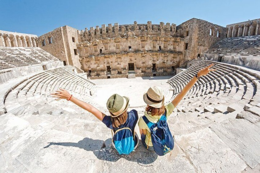 Aspendos tours from Alanya