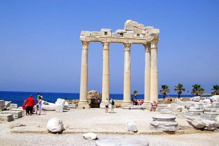 Temple of Apollo, Aspendos and Manavgat Waterfalls Day Tour from Alanya