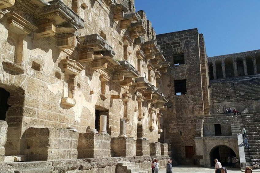 Aspendos tour from Alanya