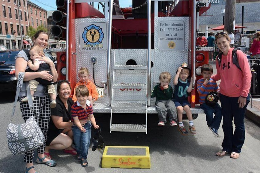 Vintage Fire Truck Sightseeing Tour of Portland Maine