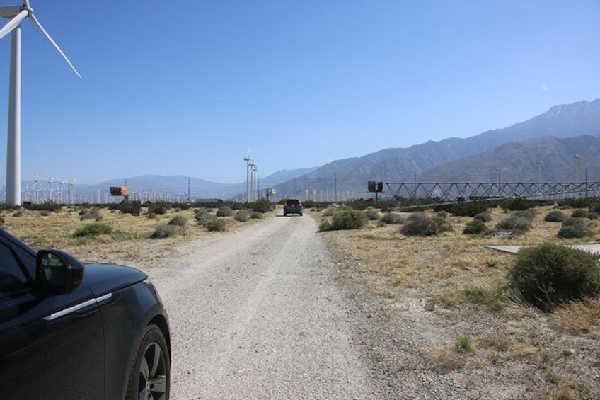 Show item 7 of 7. Palm Springs Windmill Tours self-driving tours interactive, safe & fun.